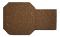 Brown Rubber Paver