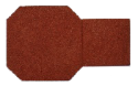Red Rubber Paver